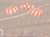 Aug. 28, 2012, Orion parachute test