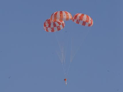 Aug. 28, 2012, Orion Parachute Test