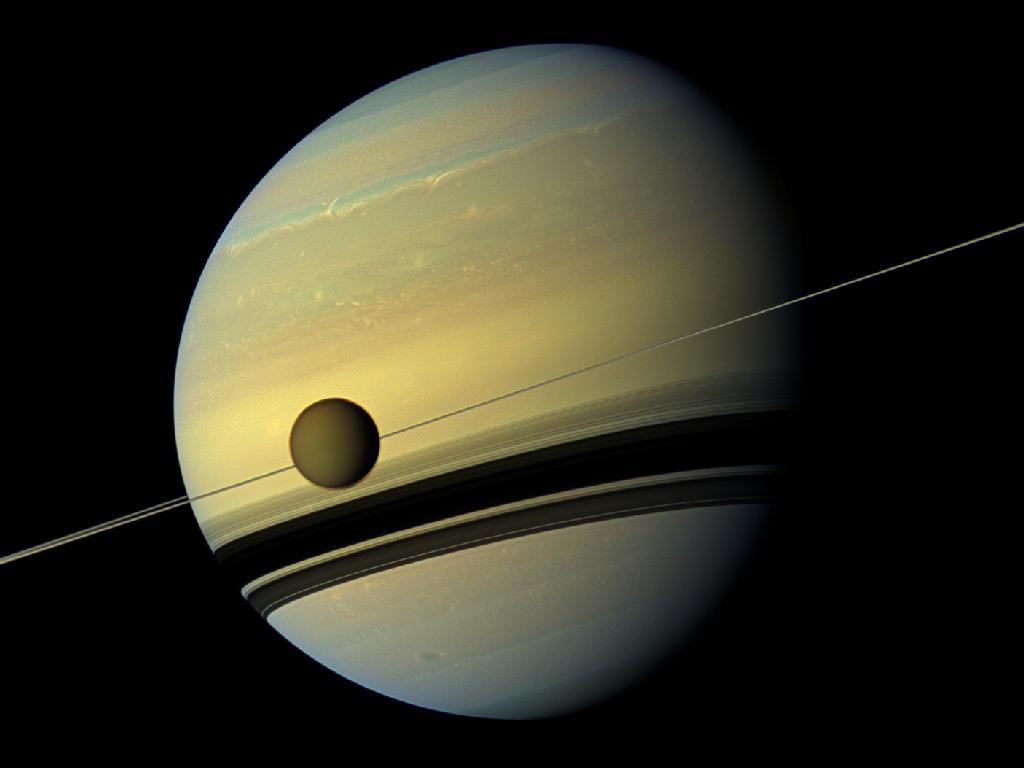 土星上季节变换时令人叹为观止的色彩 - wuwei1101 - 西花社