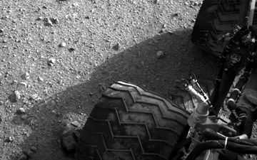Curiosity on Mars. Credit: NASA.gov