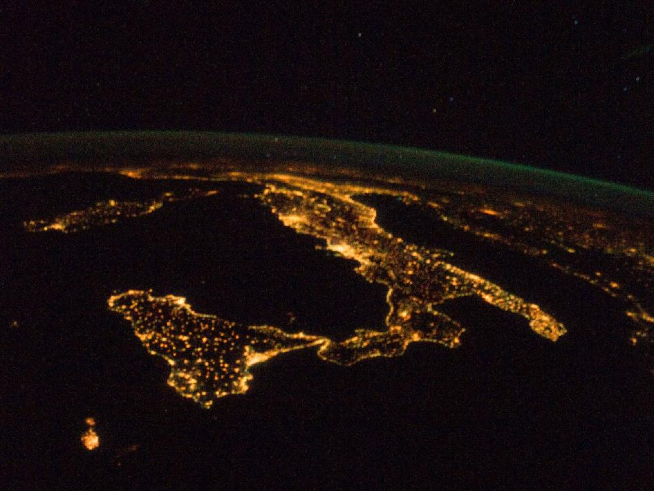 Night Lights of Italy