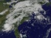NOAA's GOES-13 satellite captured an image of Isaac's huge blanket of clouds over the U.S.