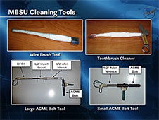 MBSU Cleaning Tools