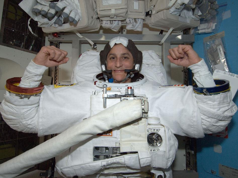astronauts sunita williams - photo #7