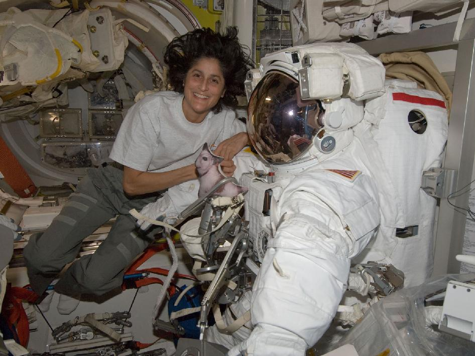 astronauts sunita williams - photo #4