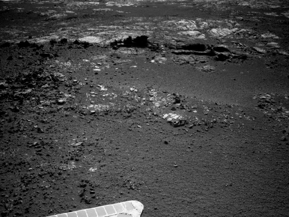 Outcrop Beckoning Opportunity, Sol 3057