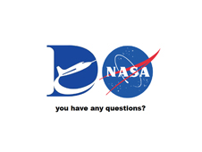 This closing slide from the NASA Dryden Flight Research Center team with the Dryden and NASA logo.