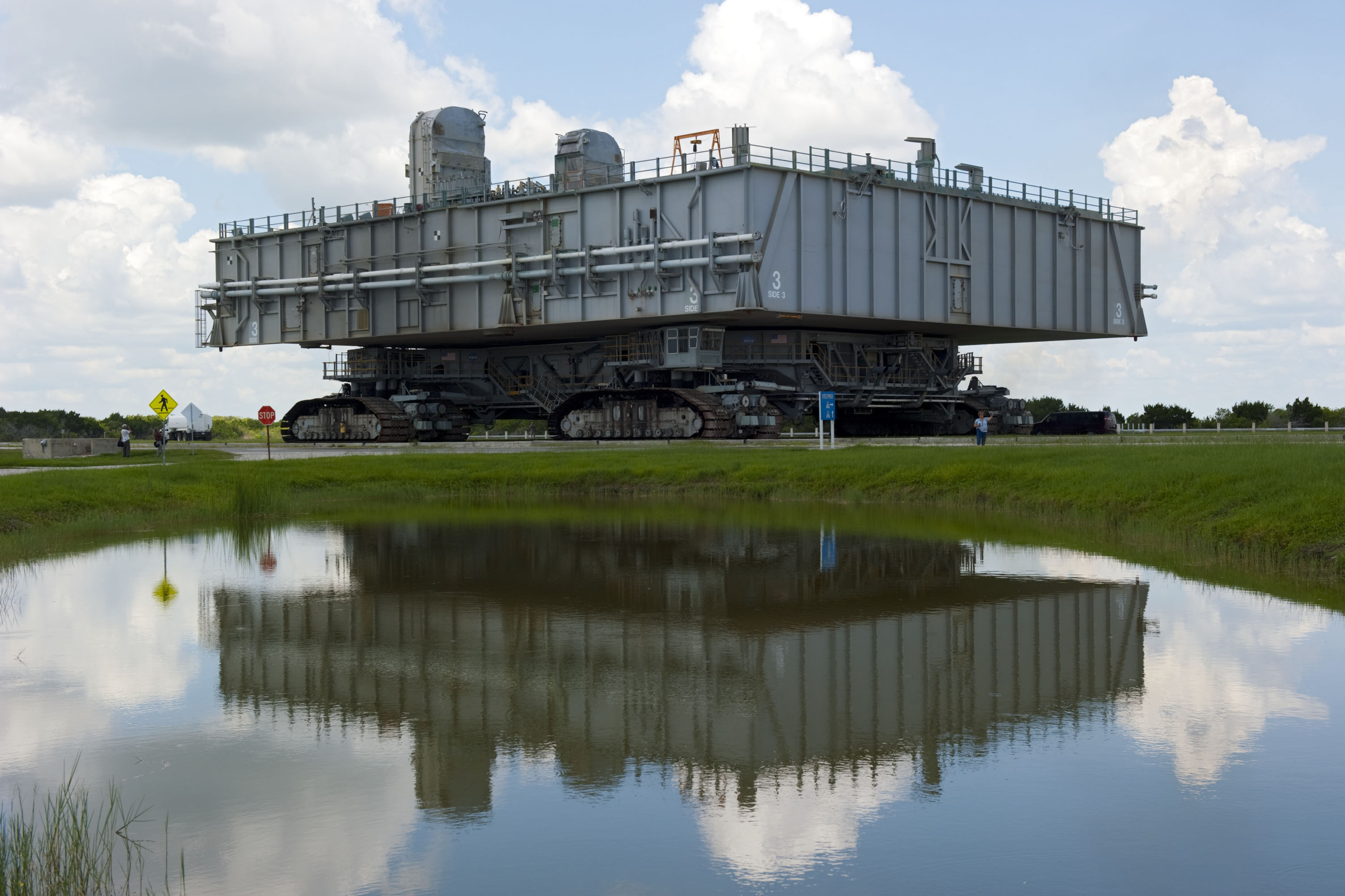 NASA - Mobile Launcher Platforms Prepped for New Generation