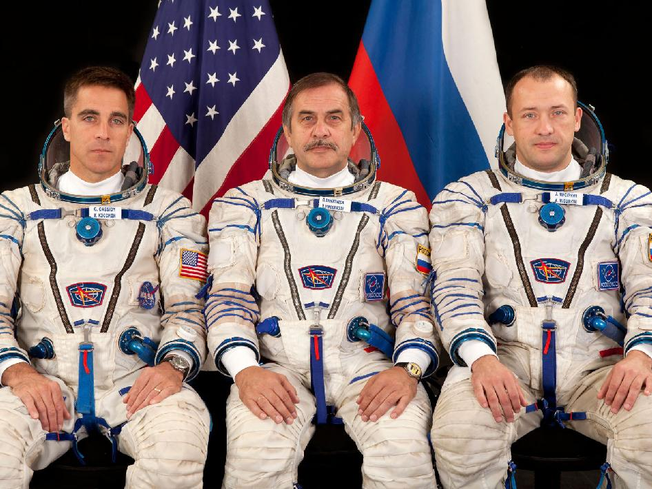 Expedition 33 backup crew members
