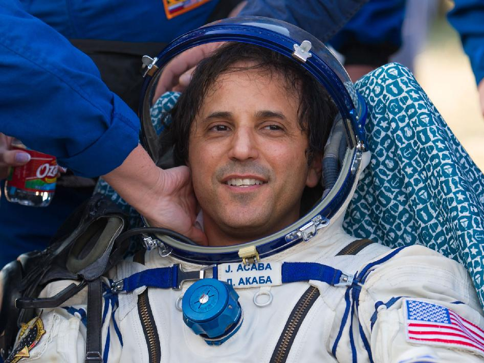 Expedition 32 NASA Flight Engineer Joe Acaba