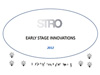 STRO Early Stage Innovations 2012