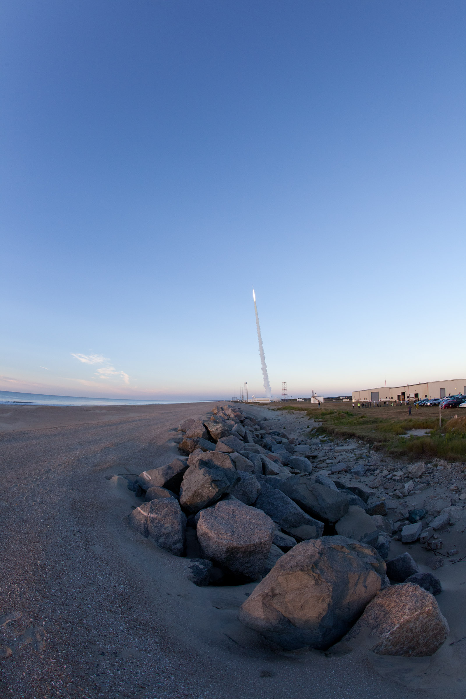 RockSatX launches from NASA's Wallops Flight Facility Sept. 21.