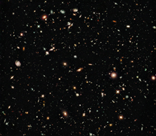 2009 updated Hubble Ultra Deep Field image