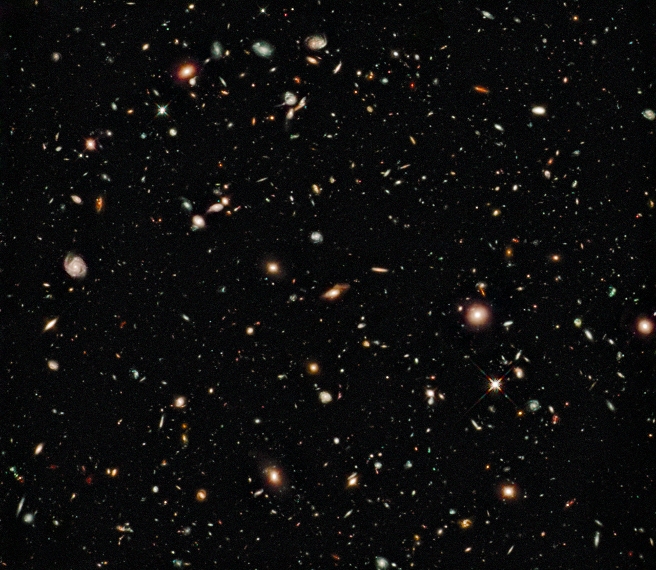 NASA - Hubble Goes to the eXtreme to Assemble Farthest ...
