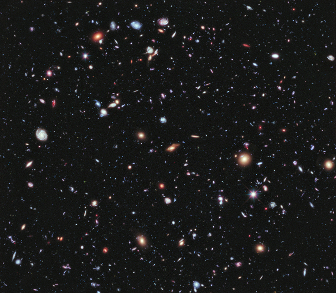 eXtreme Deep Field, or XDF, view of a small area of the constellation Fornax NASA