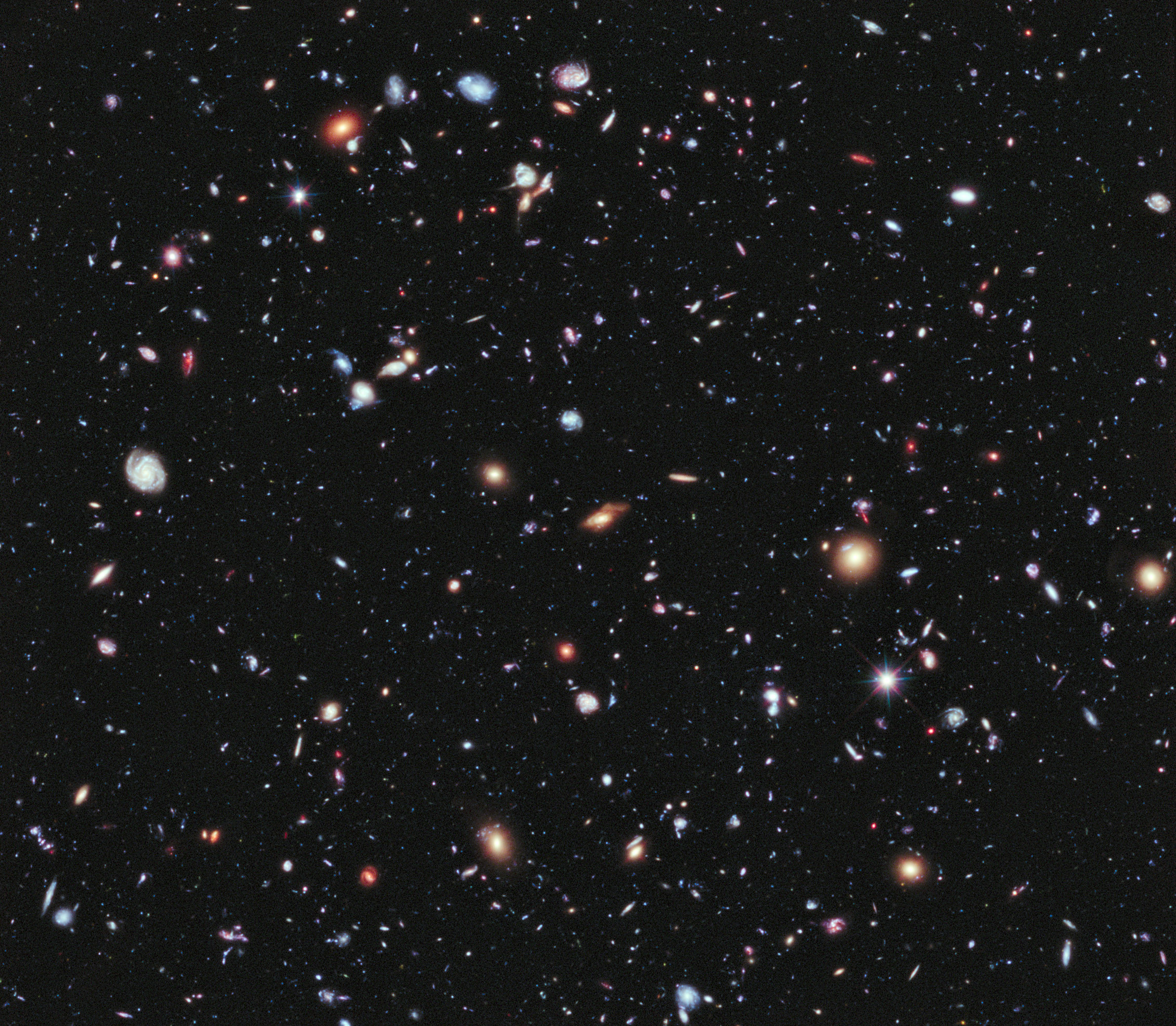 Image result for hubble deep field