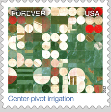 Center-Pivot Irrigation stamp