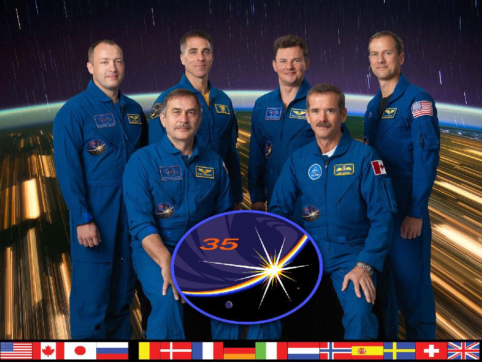 Expedition 35 Crew Portrait