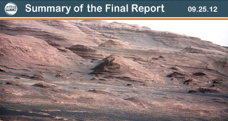 Summary of the Final Report - Mars Program Planning Group