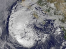 Tropical Storm Miriam was captured by NOAA's GOES-15 satellite on Sept. 26, 2012 at 10:45 a.m. EDT