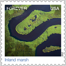 Inland Marsh stamp