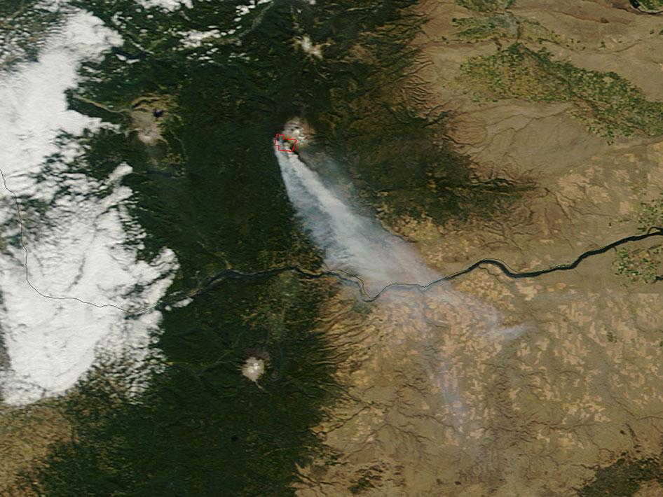 Cascade Creek Fire, Washington