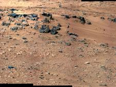 Mars image taken by Curiosity