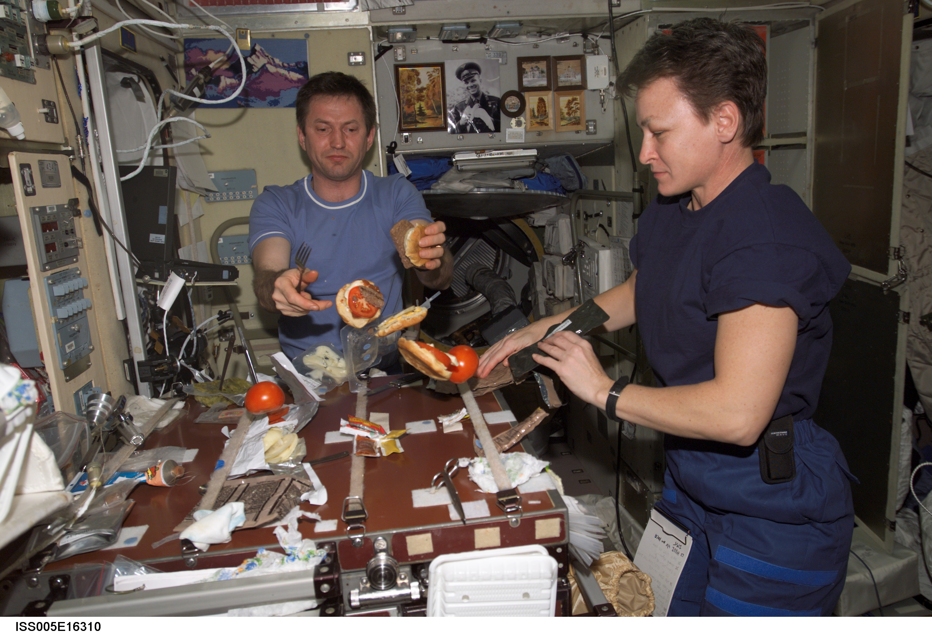 what do astronauts eat up in space - photo #9