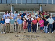 ISS-SERVIR Environmental Research and Visualization System (ISERV) Project Team, July 17, 2012