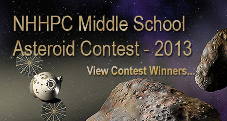 NHHPC Middle School Asteroid Contest - 2013