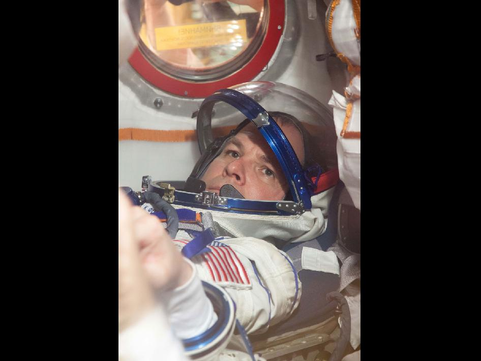 Expedition 33 Flight Engineer Kevin Ford