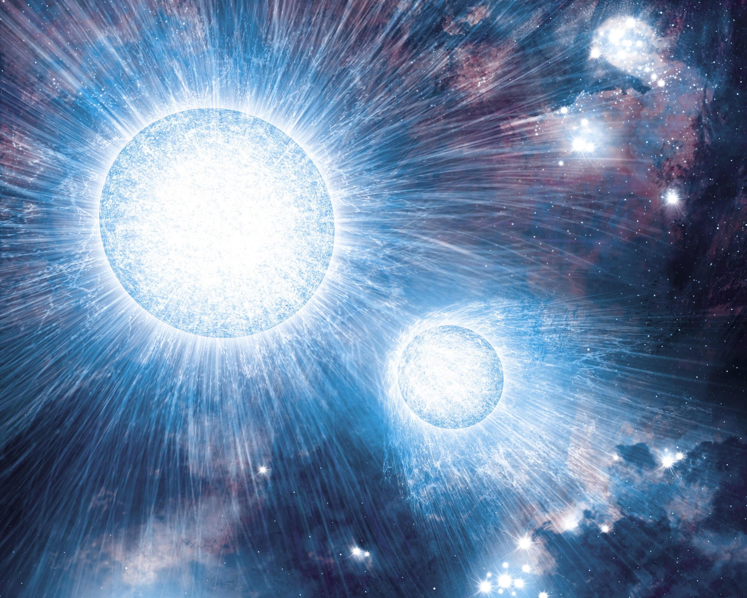 pictures of outer space in the white dwarf - photo #22