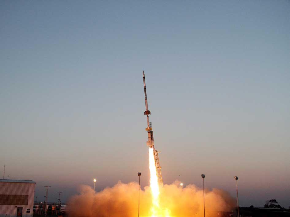 Talos Terrier Oriole sounding rocket launch