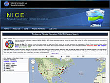 Screenshot of the TrACE website