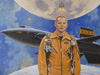 One of aerospace artist Bob McCall's last works was a portrait of Apollo 11 astronaut Neil Armstrong. Called