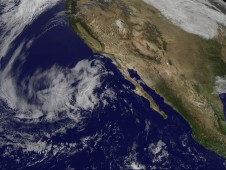 An animation of imagery from NOAA's GOES-15 satellite from Oct. 16 to 18