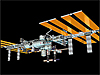 Computer-generated image of the space station as of Oct. 10, 2012