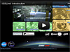 Space Station Live site on a video screen