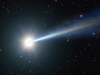 artist concept of quasar