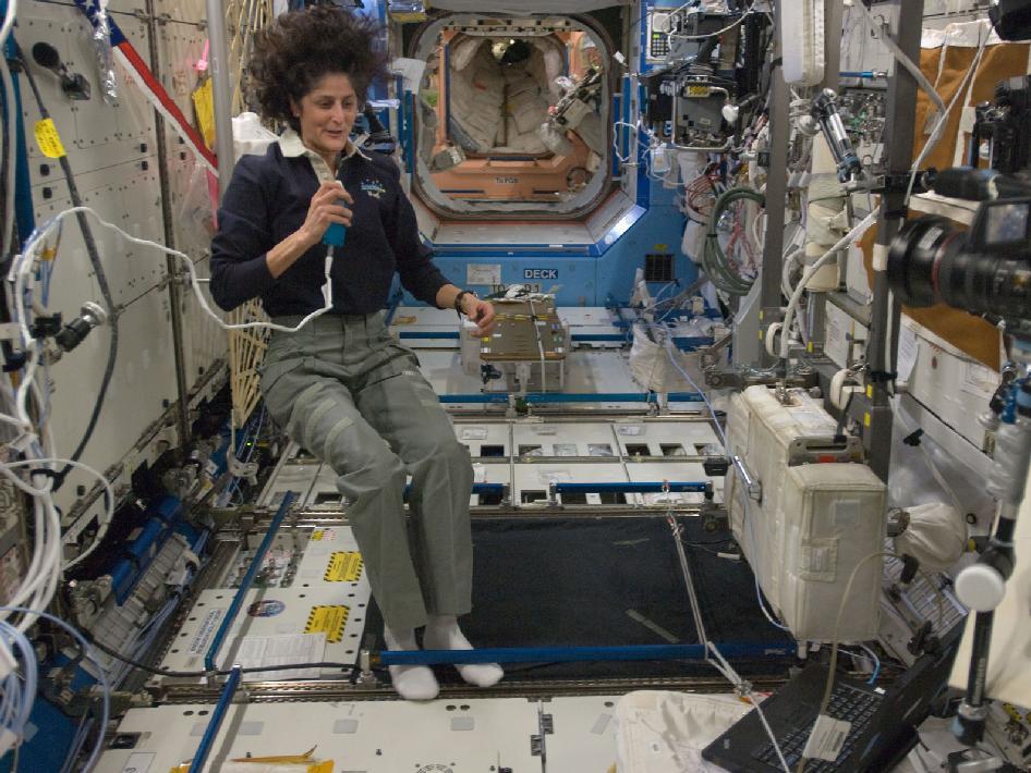 NASA - Commander Suni Williams in Destiny Lab