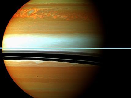 Storm on Saturn