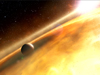 artist concept of Fomalhaut and exoplanet