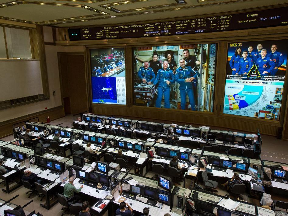 NASA - Russian Mission Control Center