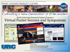 virtual poster session and symposium graphic