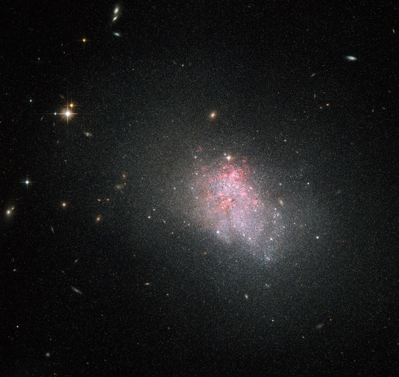 irregular galaxy nasa - photo #4