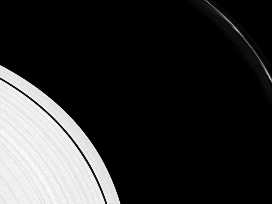 Saturn's F ring shows several