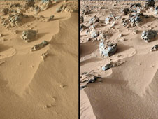 wind-blown Martian sand