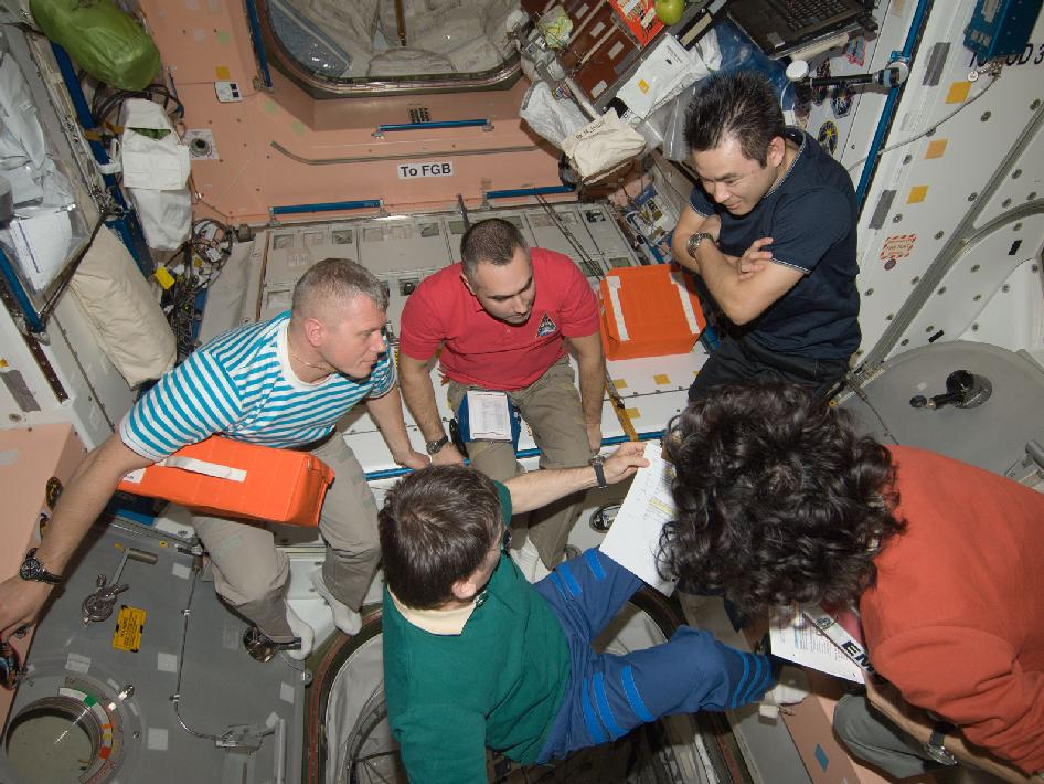 Expedition 33 crew members