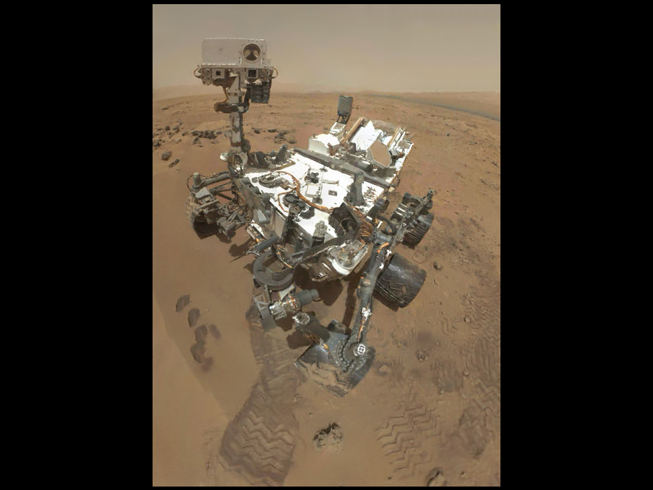Preliminary self-portrait of Curiosity