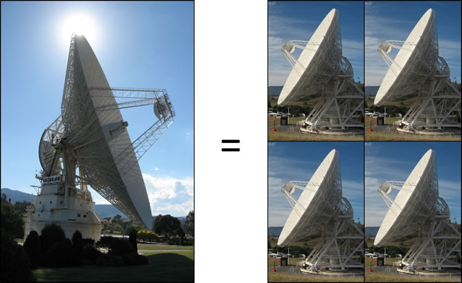 Deep Space Network Aperture Enhancement Project Antenna Array Project